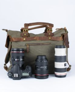 Jack DUFFLE camera bag by Camera Chick