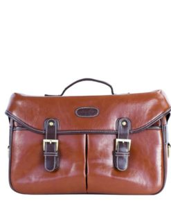 Brown leather camera hand bag women camera bag MESSENGER Taylor by Camera Chick