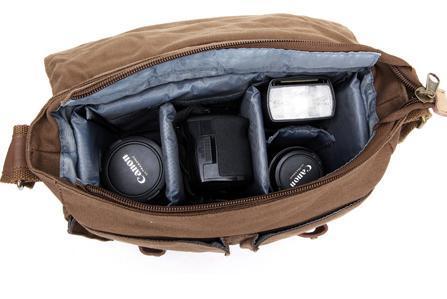 Women hand bag Messenger bag Charlie by Camera Chick