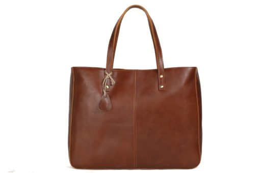 Brown Jane bag by Camera Chick